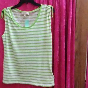 Michael Kors Lime Green Shirt